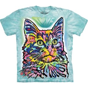 T-shirt with Short Sleeve Russo Angora Cat