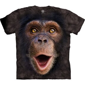 3D T-shirt Surprised Chimp
