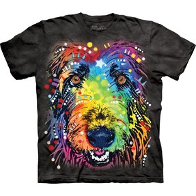 T-shirt with Short Sleeve Russo Irish Wolfhound