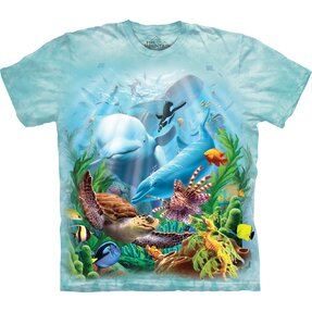 T-shirt with Short Sleeve Sea Animals