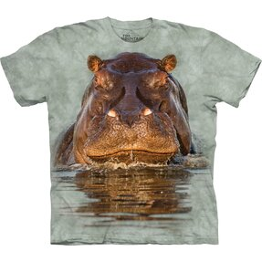 T-shirt with Short Sleeve Hippo