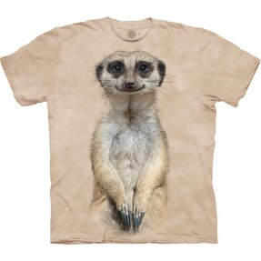T-shirt with Short Sleeve Meerkat Gaze