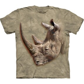 T-shirt with Short Sleeve Rhino Profile