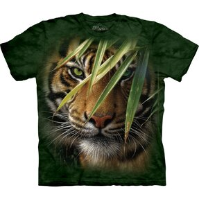 T-shirt with Short Sleeve Hidden Tiger
