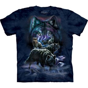 T-shirt with Short Sleeve Wolf Pack