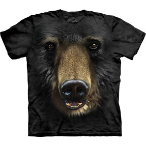 Black Bear Face Adult