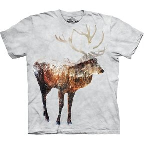 T-shirt Deer and Forest