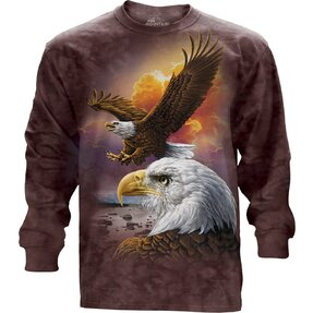 Eagle & Clouds  Adult Long