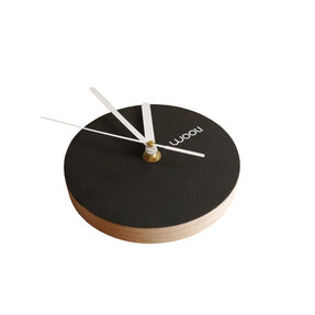 Wall Clock Kloki XS - black
