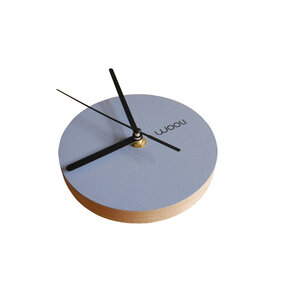 Wall Clock Kloki XS - blue