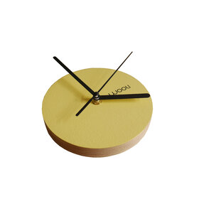 Wall Clock Kloki XS - yellow