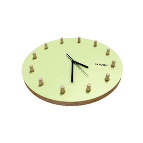 Wall Clock Kloki Klasik - green