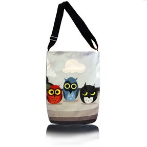 Easy Cross Shoulder Bag - Three Owls