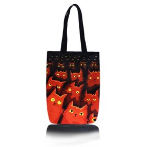Shop Shoulder Bag - Cats in Cinema