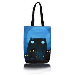 Shop Shoulder Bag - Zombie Cat