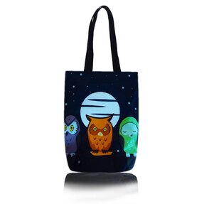 Shop Shoulder Bag - Owls at Night
