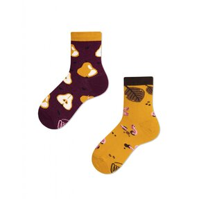 Kids' Funny Socks Autumn and Peas