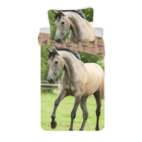 Photo Bedding Brown Horse