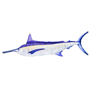 Pillow Blue Marlin with Yellow Side – 118 cm