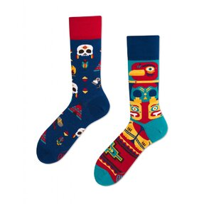 Funny Socks Indian Tribe