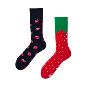 Funny Socks - Strawberries