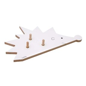 Coat Rack Hedgehog FOGO - white