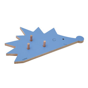 Coat Rack Hedgehog FOGO - blue