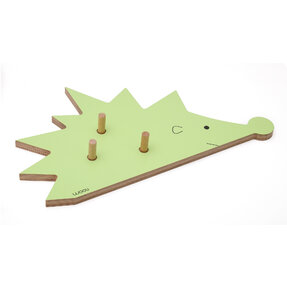 Coat Rack Hedgehog FOGO - green