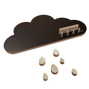 Coat Rack Wooli CLOUD
