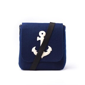 Magnet Purse Blue - Anchor