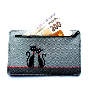 Wallet - Two Cats